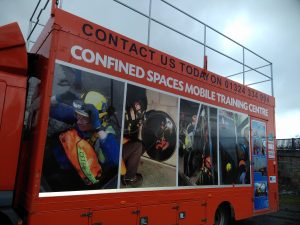 Mobile confined spaces training